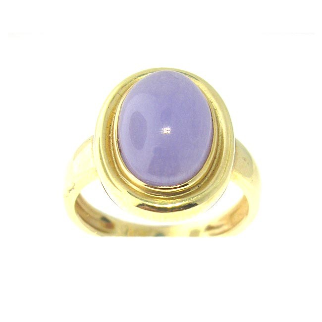 Lavender Jade Ring