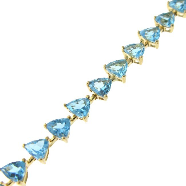 Blue Topaz Bracelet