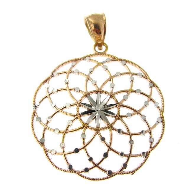 Fancy Gold Pendant