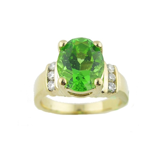 Obsidian & Diamond Ring