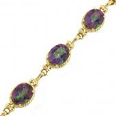 Rainbow Topaz Bracelet