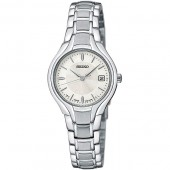 Seiko Womens Sport Stainless Steel Watch
