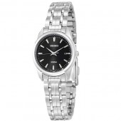 Seiko Black Dial Ladies Dress Watch