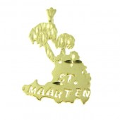 St Maarten Palm Tree Pendant