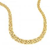 Flat Byzantine Necklace