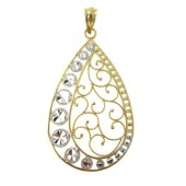 Fancy Gold Pendant