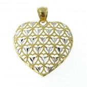 Gold Heart shape Pendant
